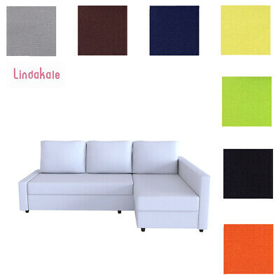 Custom Made Cover Fits IKEA FRIHETEN Sofa Bed with Chaise, Hidabed Cover