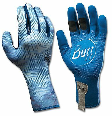 Buff Sport Series MXS 2 Fly Fishing Water Angler Outdoor Gloves - Pelagic