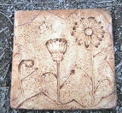 Distressed daisy stepping stone mould concrete plaster