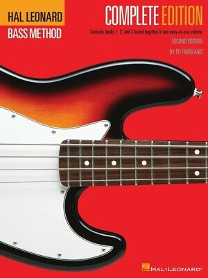 Hal Leonard Bass Method Complete Edition Book *NEW* Sheet Music, Ring Bound