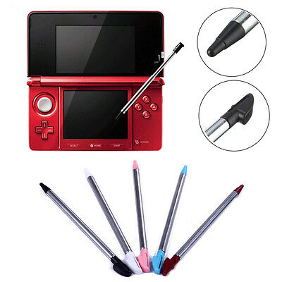 4pcs Metal Retractable Stylus Touch Screen Pen For Nintendo 3DS 3DS XL/LL Hot