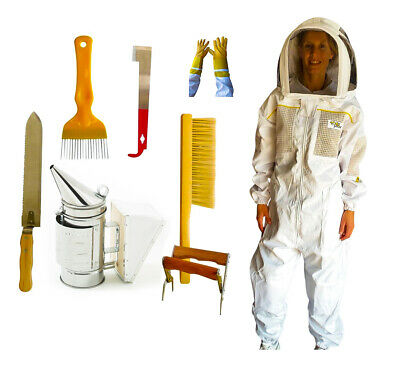 Oz Armour Beekeeping Semi Ventilated Bee Suit Starter Kit