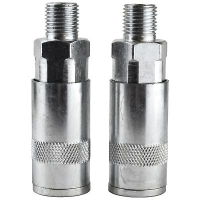 """Quick Release / Coupler Male Air Line Hose Connectors / Fittings 1/4"""" BSP SIL2"""