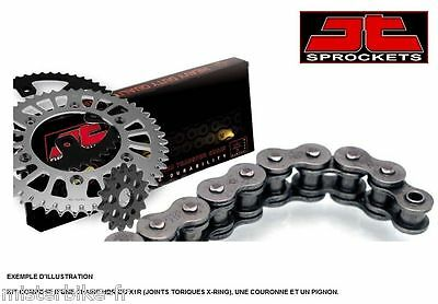 Kit chaine Complet JT Racing 520 X1R 14/50 CAGIVA 350 ELEFANT DAKAR 86-88