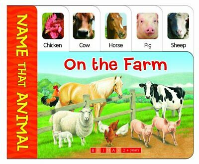 On the Farm: Name That Animal by Brimax Hardback Book The Cheap Fast Free Post