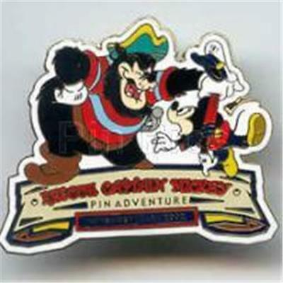 Wicked Pete Captured Rescue Mickey Event Logo Le 500 Dcl 2002 Pin 17558