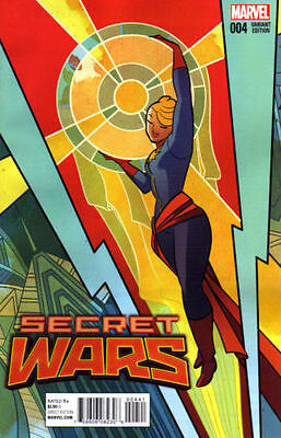 Secret Wars  #4   Nm  New (Henderson Variant)