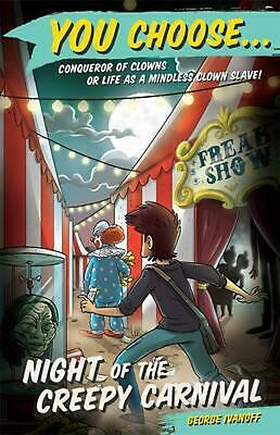 Night of the Creepy Carnival by George Ivanoff Paperback Book Free Shipping!