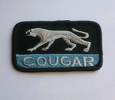 Brand new Cougar mercury embroidery jacket t shirt iron on