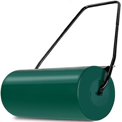 Garden Lawn Roller 60cm Heavy Duty 50L Perfect Grass Sand Water Filled Hand Tool