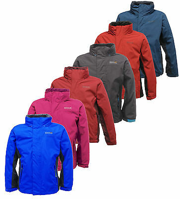 Regatta Luca II 3-in-1 Kids Waterproof Coat Inner Fleece Jacket RKP114
