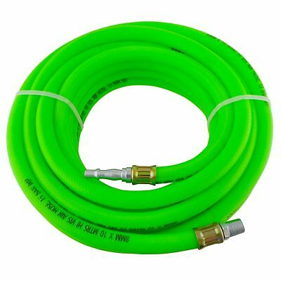 Airline Air Hose High Vis soft rubber 8mm 10m 33ft compressor hose BERGEN AT87