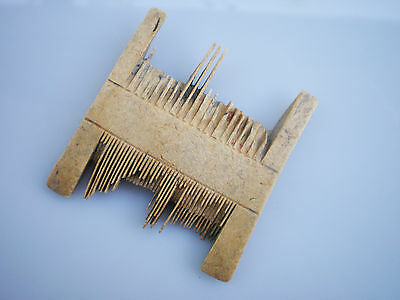 Perfect RARE ANCIENT Authentic Viking Bone COMB  circa 9 - 10 century AD