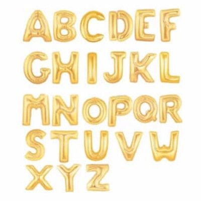 gold numbers letters balloons for party celebration birthday decoration 40 16