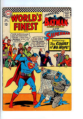 Dc: Worlds Finest Comics#163 Mid Grade- Duel To The Death!!!!