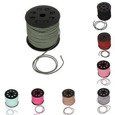 2.5MM Genuine Multi Colors Leather Cord Popular DIY Bracelet Rope Thread