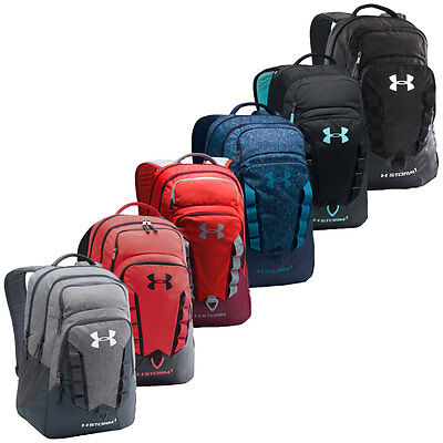 Under Armour 2017 UA Recruit Backpack Storm Rucksack Laptop 1261825 School Bag