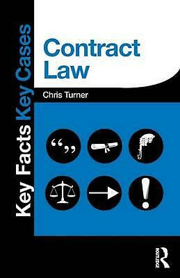 Contract Law: Key Facts and Key Cases by Chris Turner (English) Paperback Book F