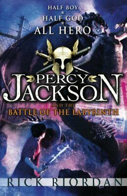 Percy Jackson and the Battle of the Labyrinth (Boo... by Riordan, Rick Paperback