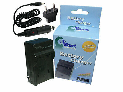 Charger + Car Plug + EU Adapter for Canon NB-13L Battery