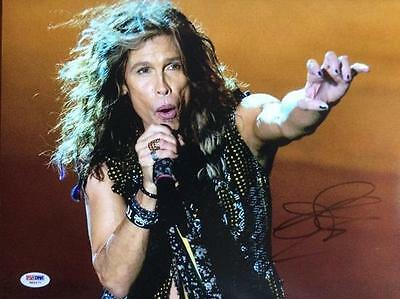 Steven Tyler- 14X11 Color Signed Photograph