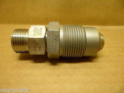 Autoclave Engineers Adapter Fitting 20,000 Psi.  316Ss  Nos