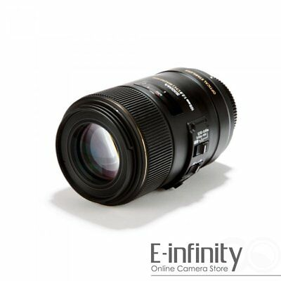 BRAND NEW Sigma AF 105mm f/2.8 EX DG OS HSM Macro Lens for Canon EXPRESS!!