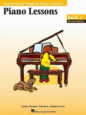 Hal Leonard Student Piano Library Lessons Book 3 *NEW* Sheet Music HLSPL