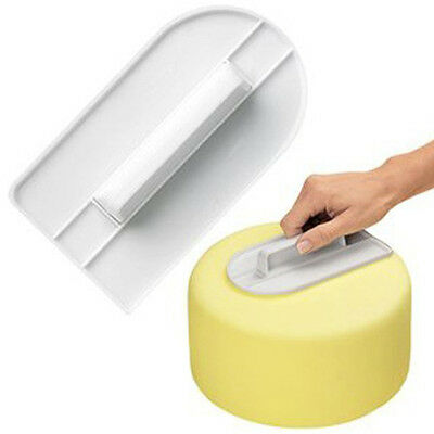 Cake Smoother Polisher Tools Cutter Decorating Fondant Sugarcraft Icing Mold #F
