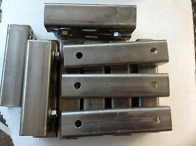 Lot of 12 Superstrut Slotted B-line 6 inches & 7 inches