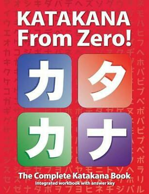 Katakana from Zero! by George Trombley (English) Paperback Book Free Shipping!