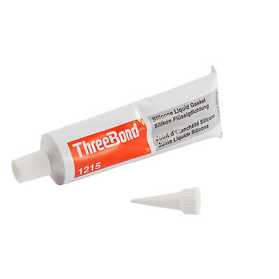 Three Bond Motorcycle/Bike Silicone Liquid Gasket Grey - 250g Tube - TB1215
