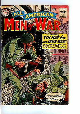 Dc: All American Men Of War#78 Mid Grade