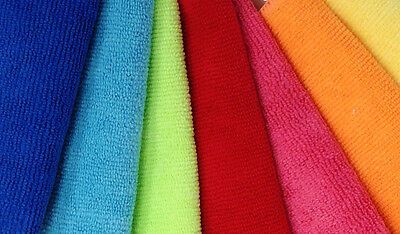 """24 New Microfiber Cleaning Towels Detail Polishing Auto Detailing 16"""" X 16"""""""