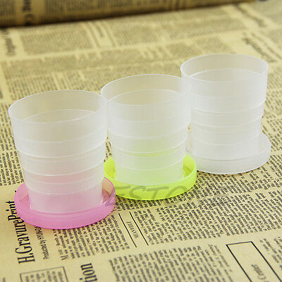 Portable Silicone Retractable Folding Cup Telescopic Collapsible Outdoor Travel