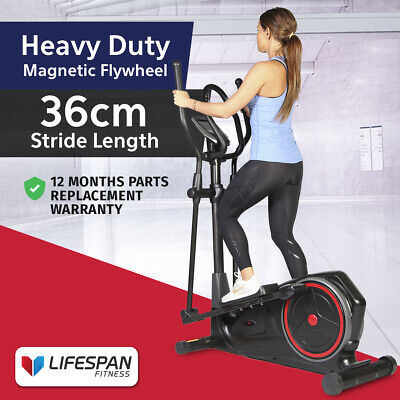 Lifespan Elliptical Cross Trainer Auto-Tension #Programs Gym Fitness Trainer