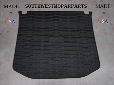 New 2011-17 Jeep Grand Cherokee Black Rubber Cargo Tray Mat Oem 82212085