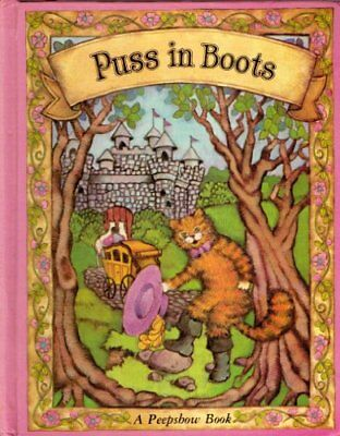 Puss in Boots (Peepshow Books) by Perrault, Charles Hardback Book The Cheap Fast