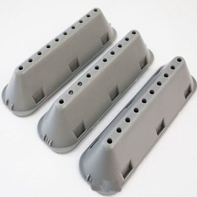 HOTPOINT & INDESIT WASHER DRUM PADDLE/LIFTER 3 PACK . 10 HOLE 185mm