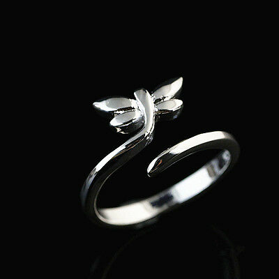 925 Solid Sterling Silver Plated Women/Men NEW Fashion Ring Gift SIZE OPEN HR446