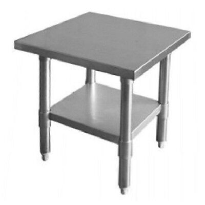 "New 24"" x 24"" Commercial Stainless Steel Kitchen Work Prep Table 24"" x 24"" NSF"