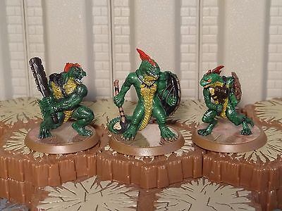 Greenscale Warriors - Heroscape- Wave 11/D1 - Free Shipping Available