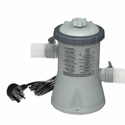 Intex Swimming Pool Filter Pump 1,250 litres / 330 gal/hour  #28602