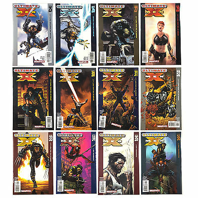 Marvel ULTIMATE X-MEN Lot of 12 Issues #25-26