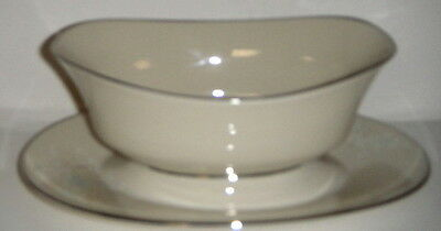 Lenox April  Gravy Boat W/Attached Underplate