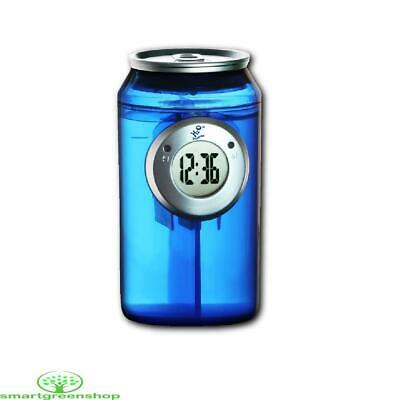 H2O Blue Water Powered Can Clock (Just add water to work) Eco Gadget H20-005