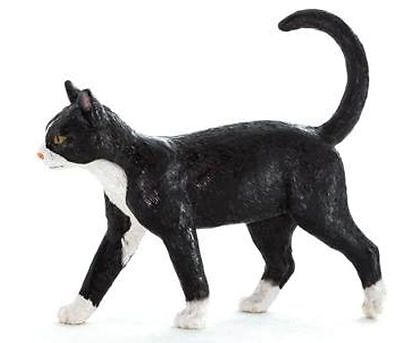 FREE SHIPPING | Mojo Fun 387200 Black & White Cat Model Pet Toy - New in Package