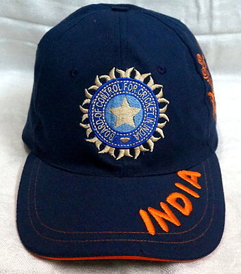 New India World Cup 2015 Cricket Cap Logo No Tag Same as shown In Pics