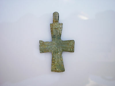 ANCIENT RARE Viking PENDANT CROSS  Viking Kievan Rus ca 9 - 10 century AD