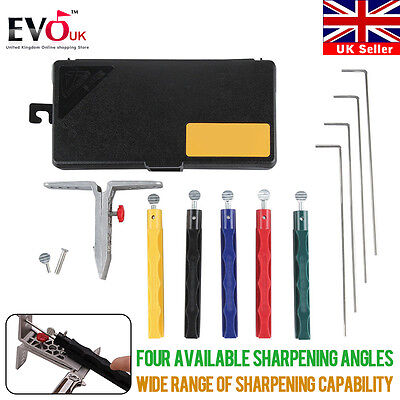 Knife Sharpener Professional Kitchen Sharpening System W/ 5 Stone Version